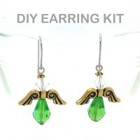 Angel Earring Kit (Green)