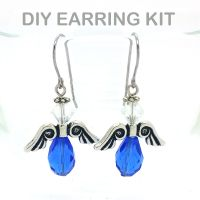Angel Earring Kit (Blue)