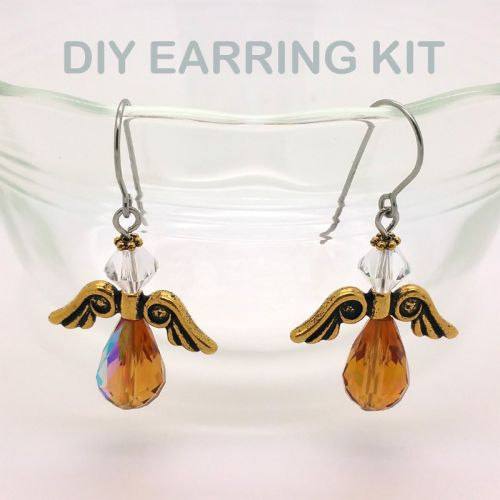 Angel Earring Kit (Gold)