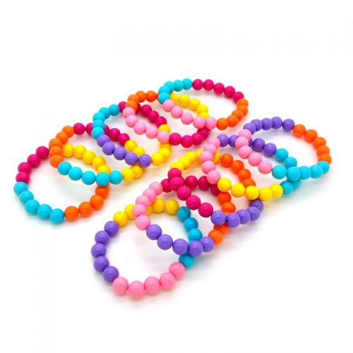 Party Favor Bracelets D: Set of 10