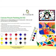Canvas Pouch Painting Art Kit