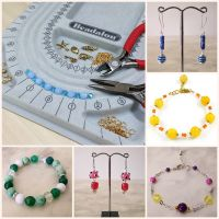 Jewellery Making Workshops - LIVE Online (materials and tools included)
